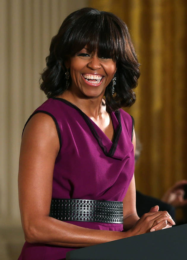 """Michelle Obama Says """"Never Say Never"""" To Plastic Surgery"""