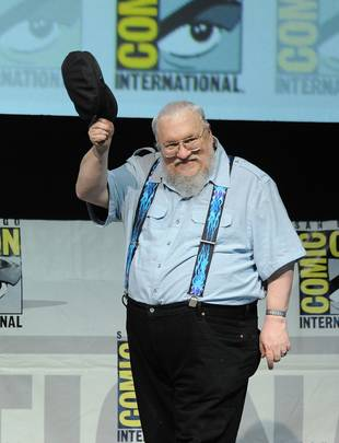 "Game of Thrones: George R. R. Martin Admits He Needs to ""Speed Up a Little"""