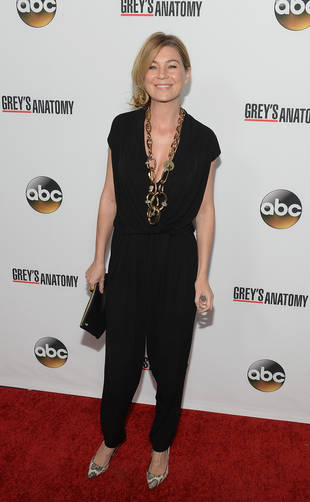 Grey's Anatomy's Ellen Pompeo Dances in Sexy Cutout Outfit (VIDEO)