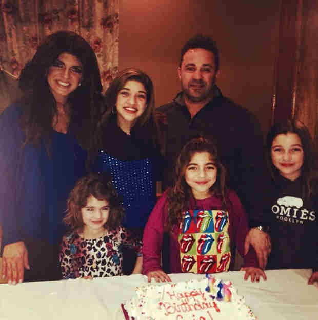 "Teresa Giudice Is ""Blessed"" With Her Family"