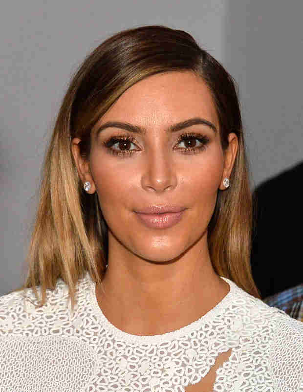 How Long Will Kim Kardashian Stay Blonde?