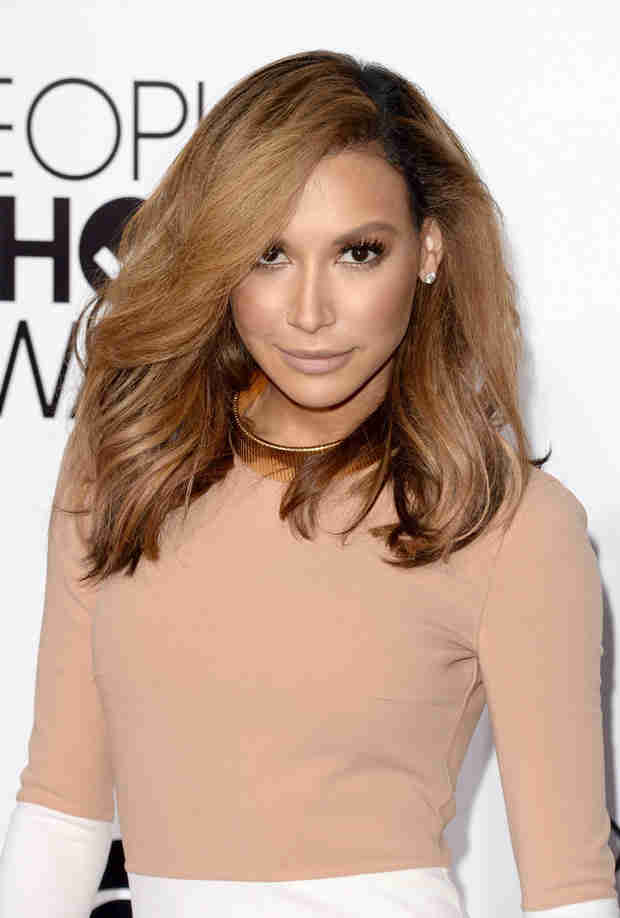 Glee's Naya Rivera Goes Fully Blonde — See Her New Hair! (PHOTO)