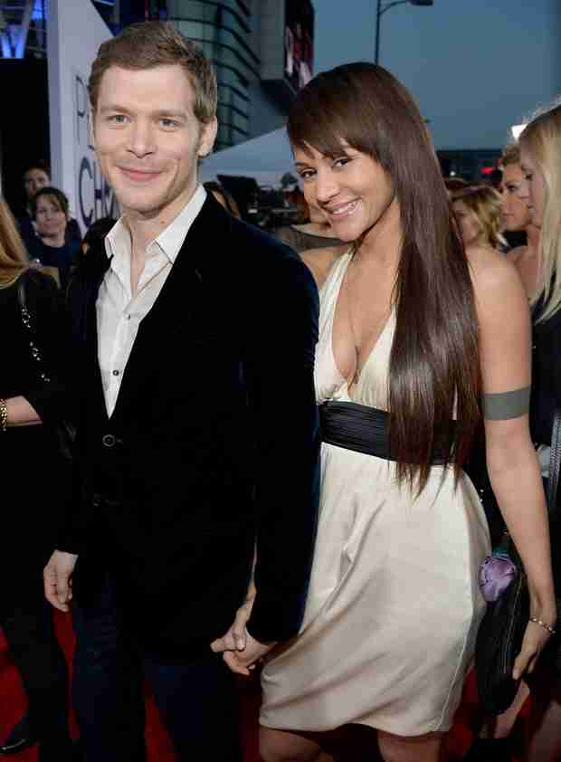 Joseph Morgan's Girlfriend Persia White Congratulates Him After People's Choice Win