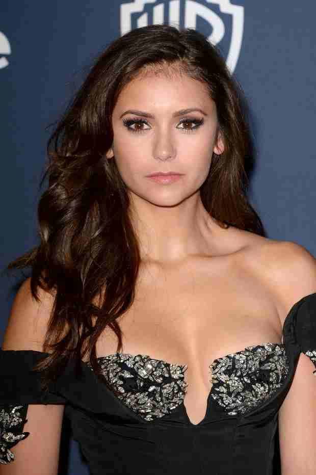 Nina Dobrev Strikes a Prom Pose With Julianne Hough and Topher Grace (PHOTO)