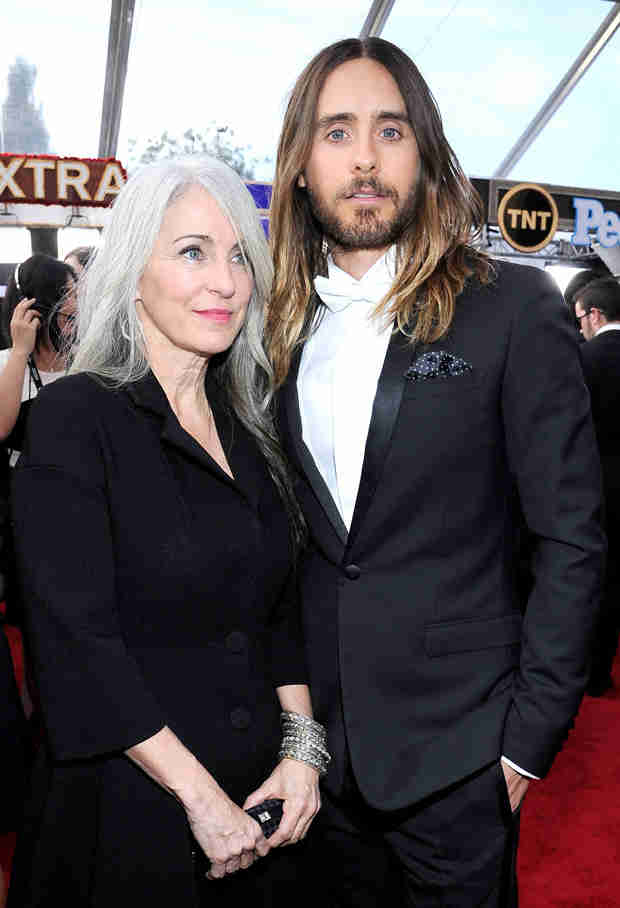Jared Leto Flirts With Game of Thrones's Emilia Clarke at SAG Awards 2014 — New Couple Alert?
