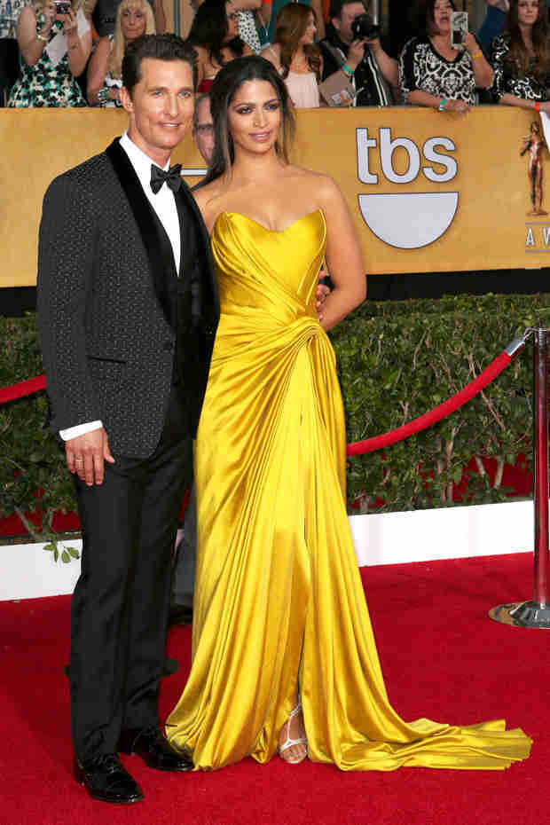 Watch Matthew McConaughey's Bizarre SAG Awards Speech About Neptune (VIDEO)