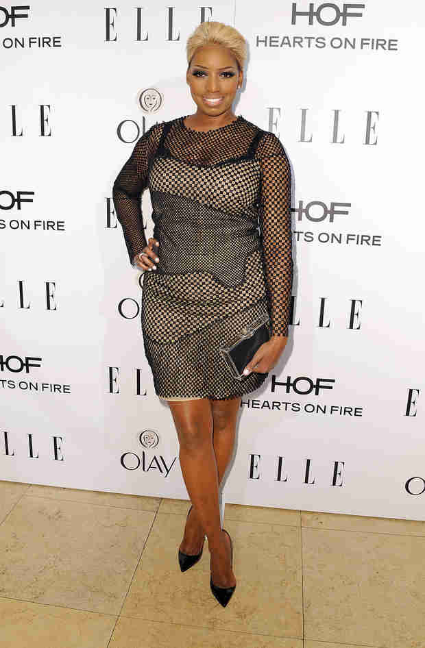 NeNe Leakes Wears Bizarre Semi-Sheer Dress — Hot or Not?