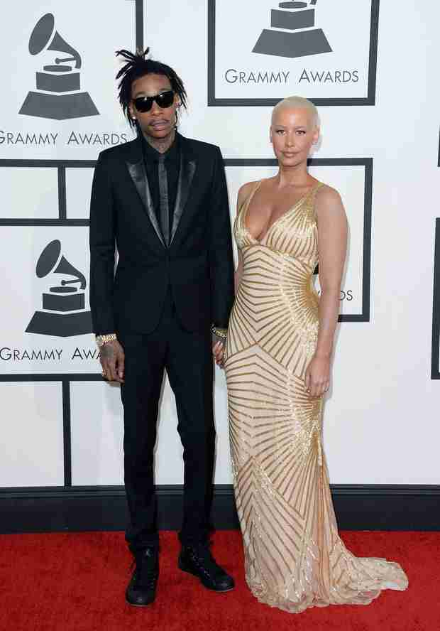 Amber Rose Shows Off Baby Weight Loss on Grammys 2014 Red Carpet — How'd She Do It? (PHOTO)