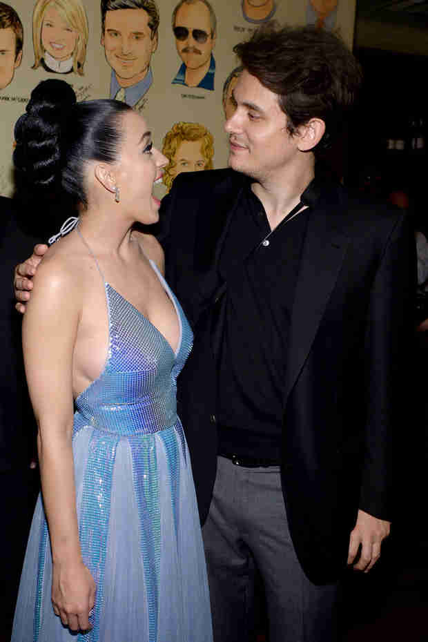John Mayer Bonds With Katy Perry's Family After The Grammys — And Takes Photos!