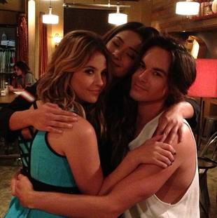 Should Hanna Be With Caleb or Travis on Pretty Little Liars? Shay Mitchell Says…