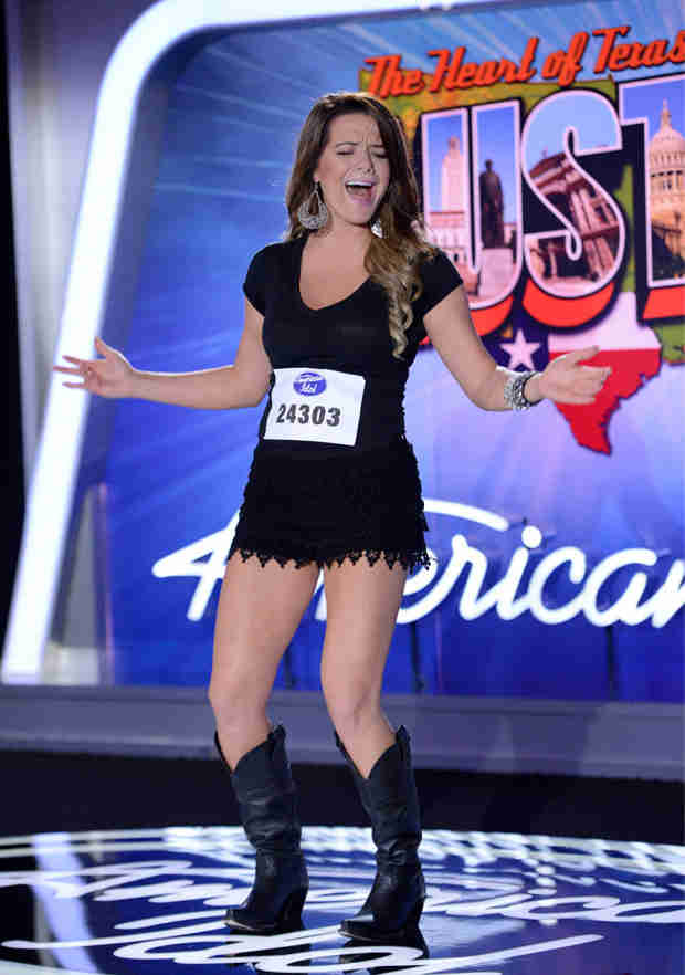 "Watch Madelyn Patterson Sing ""Up to the Mountain"" in the American Idol 2014 Premiere (VIDEO)"