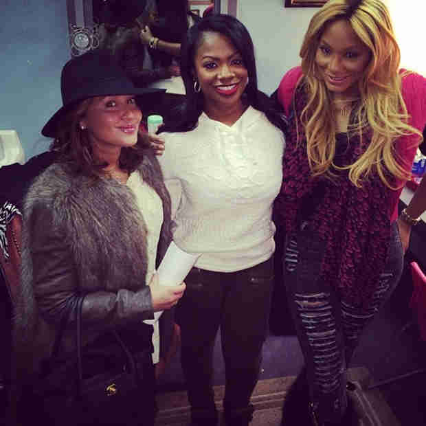 Tamar Braxton and Adrienne Bailon Support Kandi Burruss in New York City (PHOTO)