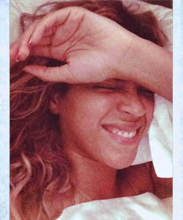 Beyoncé Goes Makeup Free in Intimate Selfies (PHOTOS)
