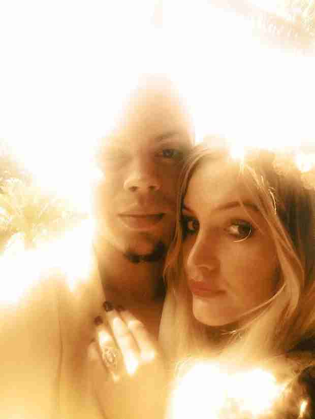 Ashlee Simpson Engaged to Evan Ross — Diana Ross's Son!