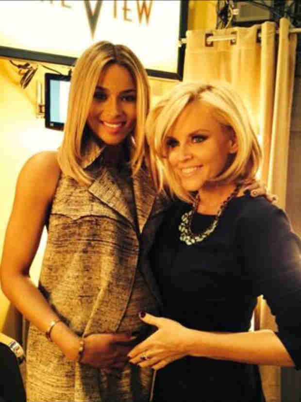 Ciara Is Pregnant — Debuts Baby Bump on The View (PHOTO)