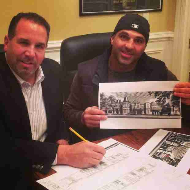 Joe Gorga Posts Blueprint Sketches of His Future Home with Melissa!