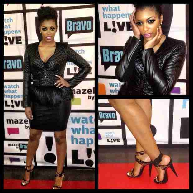 See Porsha Stewart's WWHL Look — Hot or Not? (PHOTO)