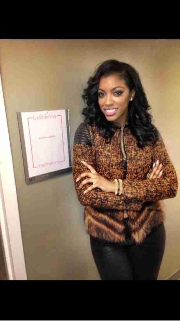 "Porsha Stewart Has ""Best Interview"" With Bethenny Frankel (PHOTO)"