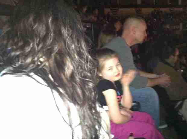 Amber Portwood and Gary Shirley Take Daughter Leah to Disney on Ice (PHOTO)