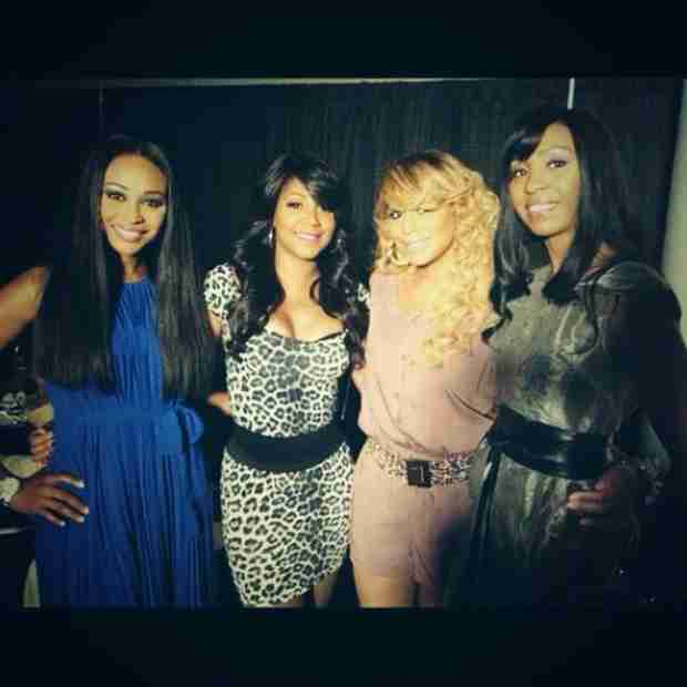 Tamar and Trina Braxton Wish Cynthia Bailey's Sister a Happy Birthday (PHOTO)