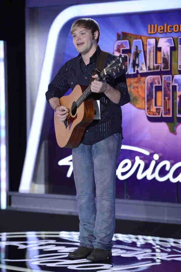 "Watch Casey Thrasher Sing ""Believe"" on American Idol 2014, Salt Lake City Auditions"