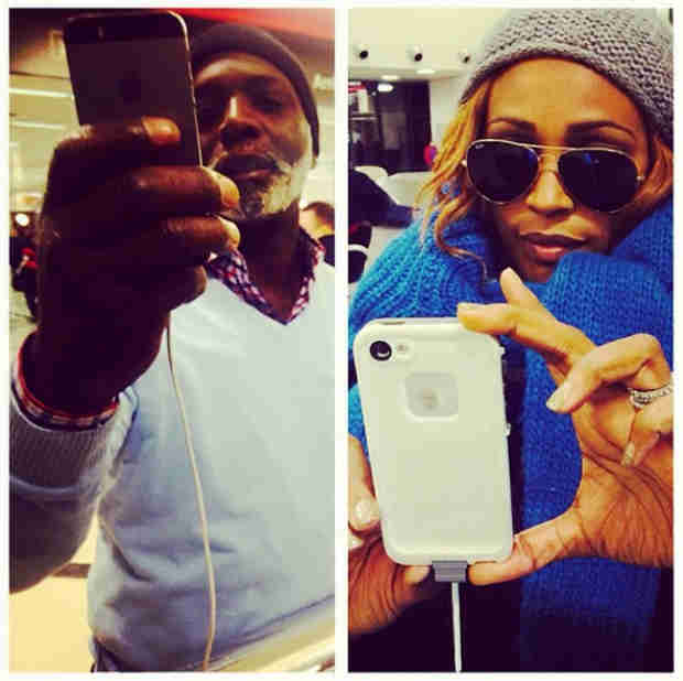 Cynthia Bailey Stranded at Atlanta Airport! (PHOTOS)