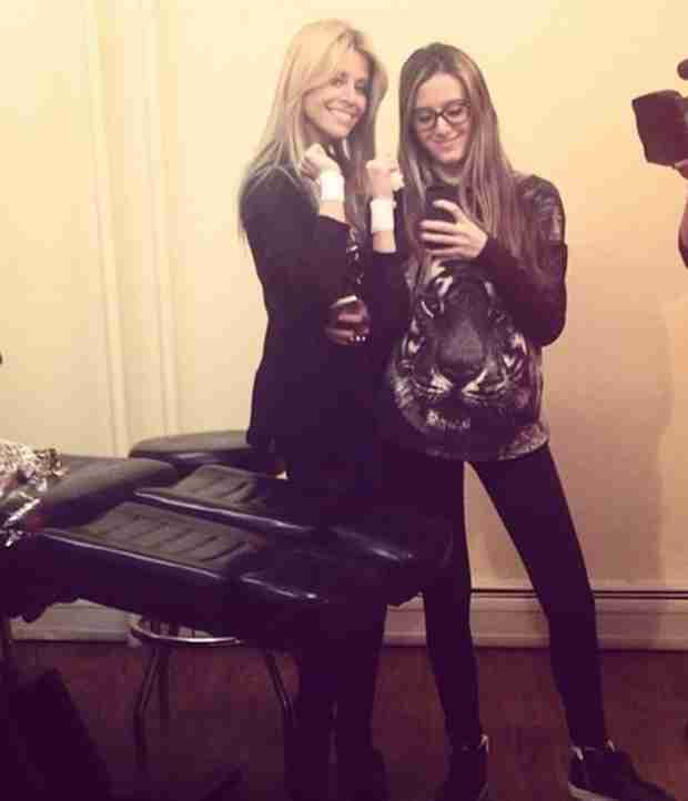 Dina and Lexi Manzo Get Tattoos?! (PHOTOS)