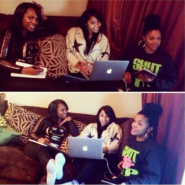 "Kandi Burruss Working on ""Phenomenal Idea"" With Toya Wright and Rasheeda (PHOTO)"