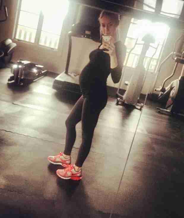 Pregnant Kristin Cavallari Shows Off Big Baby Bump at Gym (PHOTO)
