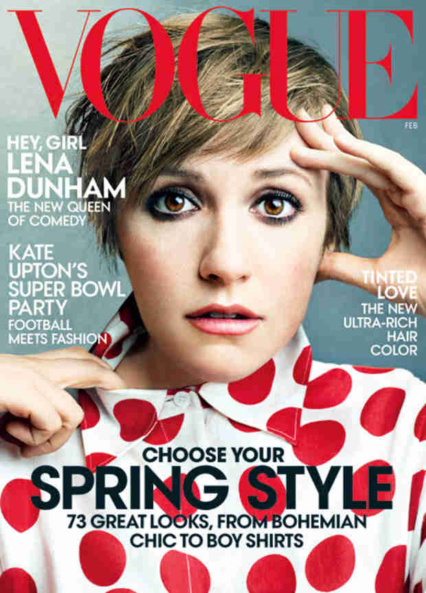 Lena Dunham's Vogue Cover Sparks Photoshop Controversy (UPDATE)