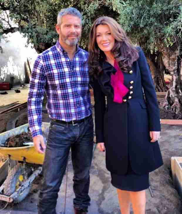 Andy Cohen Gets Behind-the-Scenes Tour of Lisa Vanderpump's New Restaurant, PUMP (PHOTO)