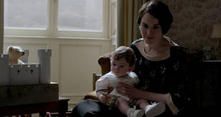 Downton Abbey Season 4: See Babies George and Sybbie in the January 26 Episode!