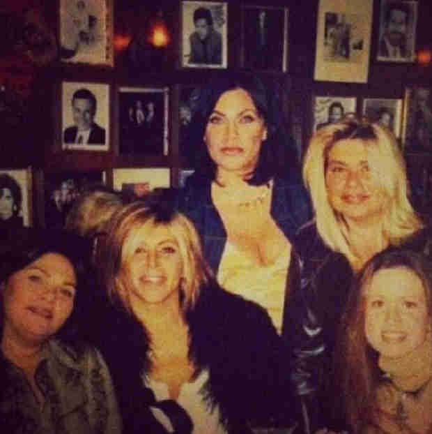 Mob Wives' Throwback: Big Ang and Renee Graziano Like You've Never Seen Them! (PHOTO)