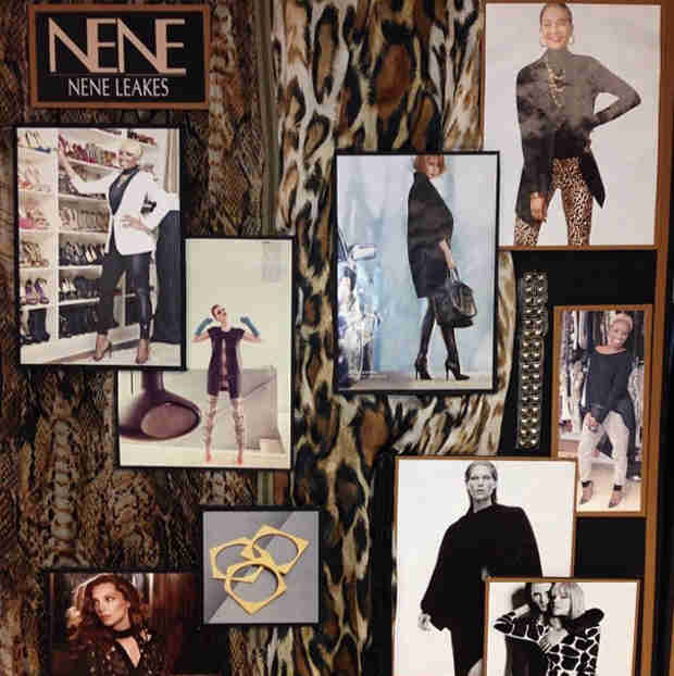 NeNe Leakes Works on Her Clothing Line: Get a First Look!