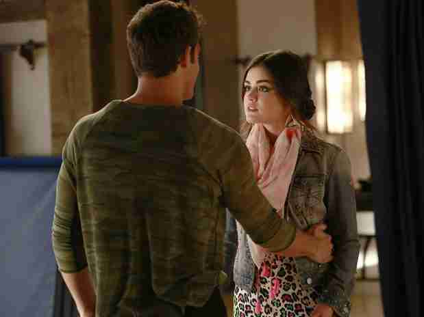 Pretty Little Liars' Aria and Jake Break Up in Season 4, Episode 16