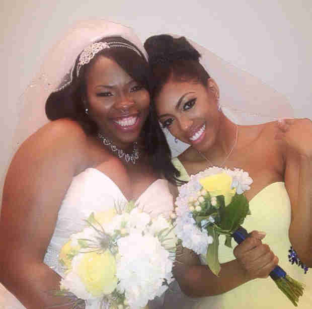See Porsha Stewart as Maid of Honor in Cousin's Wedding (PHOTO)