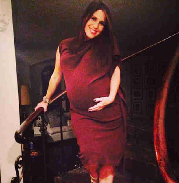 "Pregnant Soleil Moon Frye's Baby Boy Is Ready to ""Pop Out Any Second"""