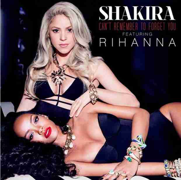 Rihanna and Shakira Pose Sexily in Upcoming Single Art (PHOTO)