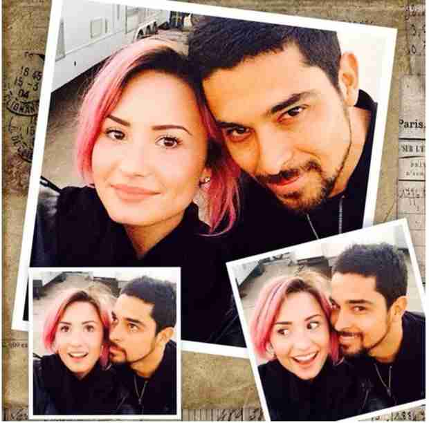 Demi Lovato Shares Intimate Pic With Rumored Boyfriend Wilmer Valderrama (PHOTO)