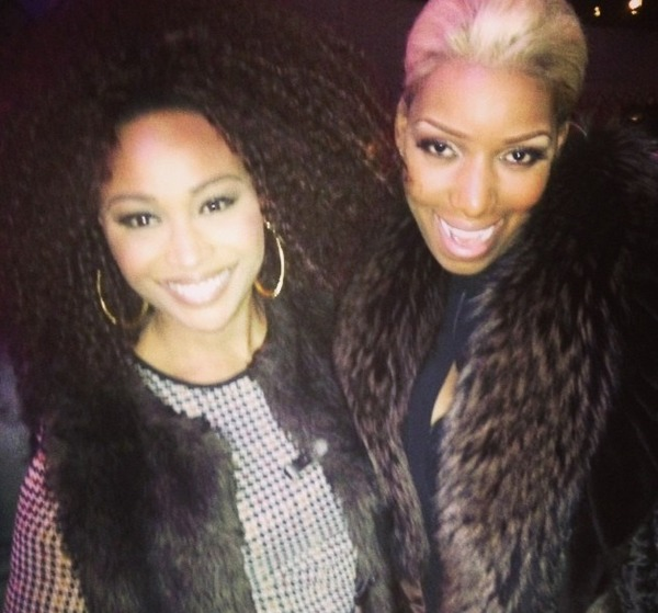 Cynthia Bailey Debuts New Hairstyle During New Year's Celebration With NeNe Leakes (PHOTO)