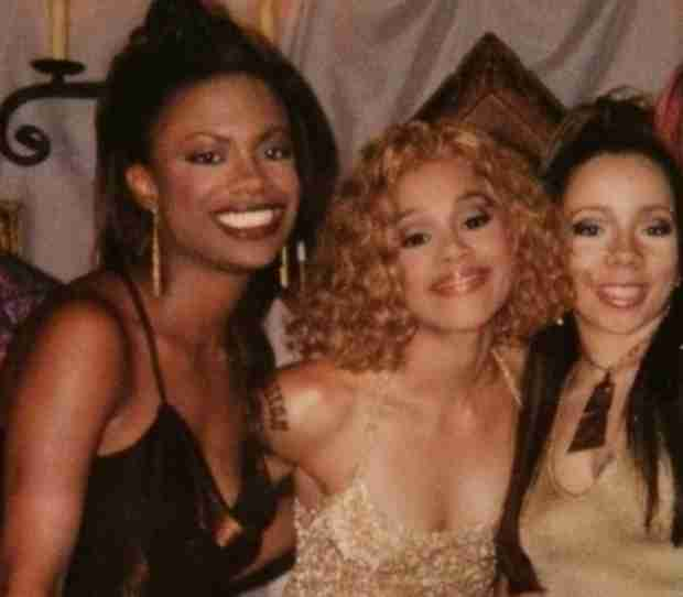 "Kandi Burruss Poses With Tiny and Lisa ""Left Eye"" Lopes in Throwback Photo"