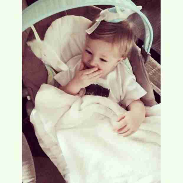 Kash Biermann Pretends to Be a Baby — Is He Jealous of the Twins? (PHOTO)