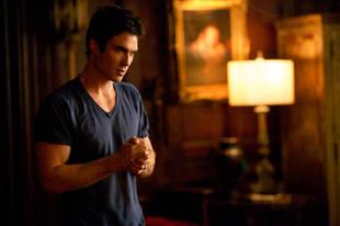 The Vampire Diaries Season 5 Spoilers: Damon Is Bad Again (VIDEO)
