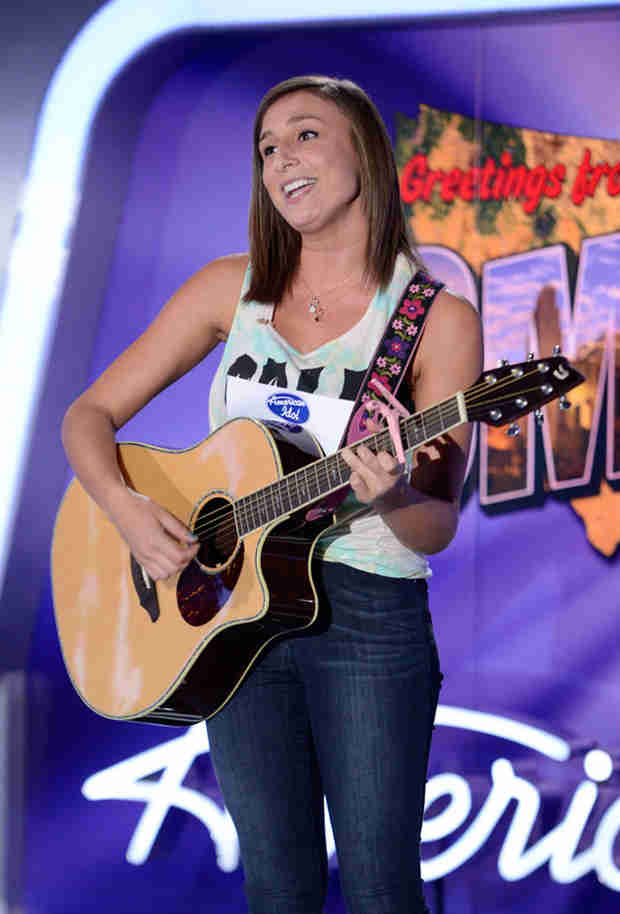 "Watch Alyssa Siebken Sing an Acoustic Version of ""No Hands"" in the American Idol 2014, Omaha Auditions (VIDEO)"