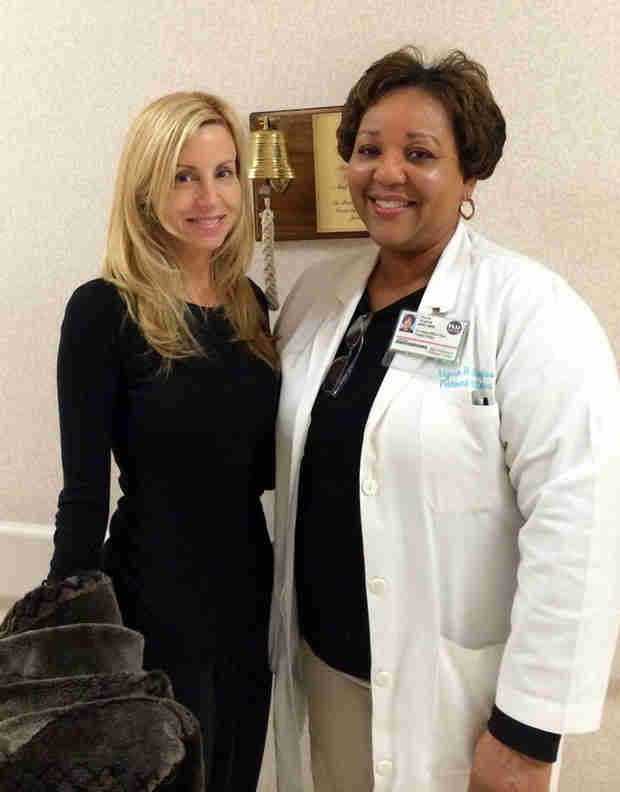 Camille Grammer Completes Chemotherapy, Shares Photo With Her Doctor
