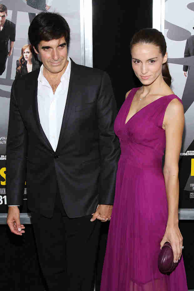 David Copperfield Engaged to French Model — 29 Years Younger!