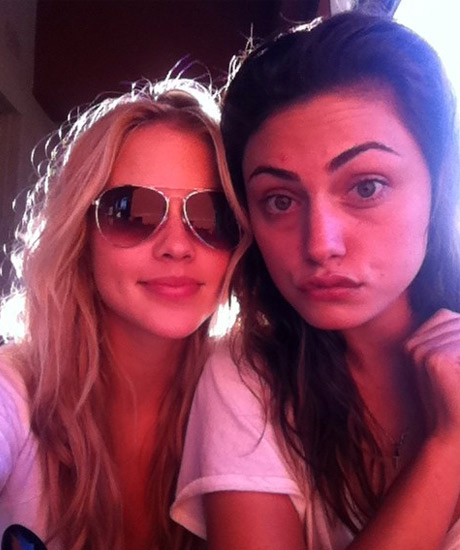 """Claire Holt Dishes About Her """"Frugal Friday"""" With Phoebe Tonkin at Target"""