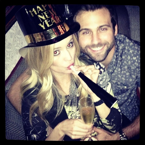 Emily Maynard and Boyfriend Tyler Johnson Cuddle Up in First Pic Together!