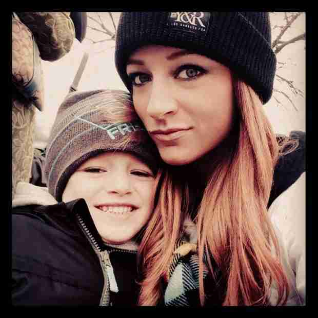 Maci Bookout and Bentley Go Sledding in Tennessee — See Their Adorable Playdate (VIDEO)