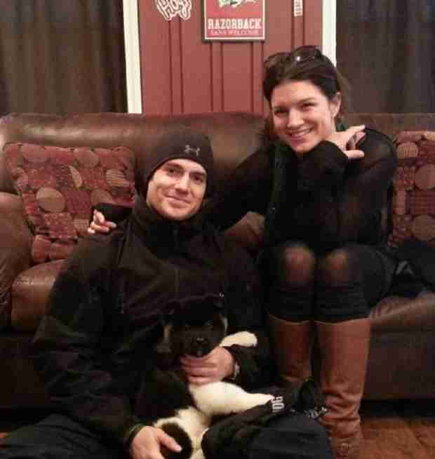 Henry Cavill and Girlfriend Gina Carano Show Off Adorable New Puppy